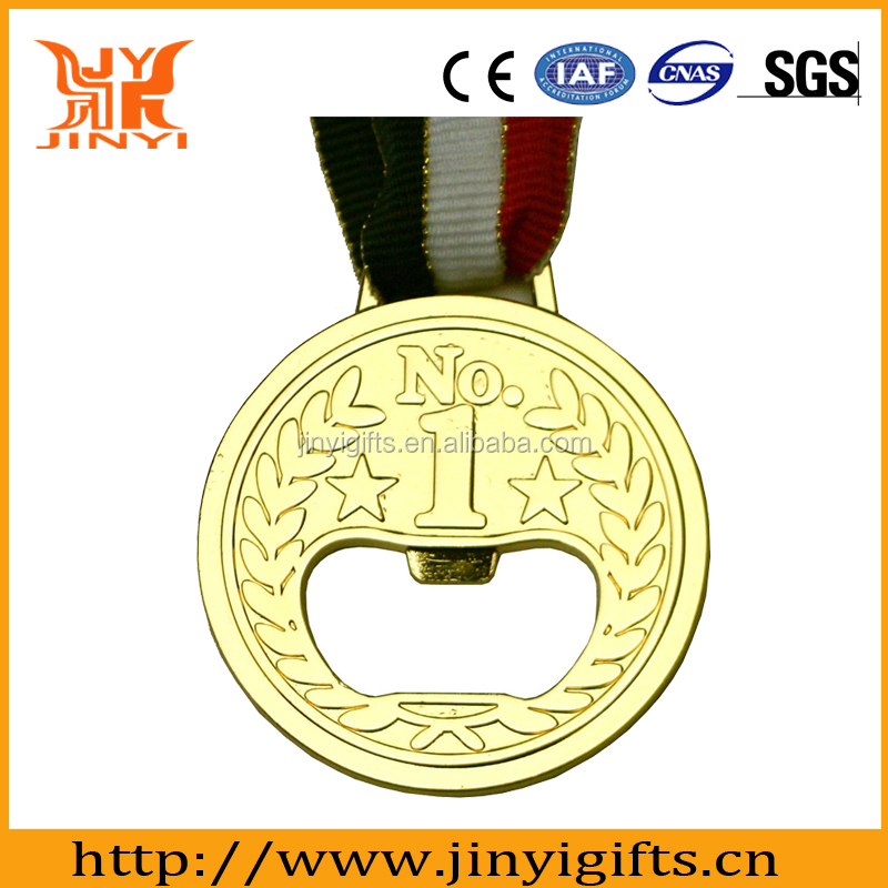 Zinc alloy high quality custom sports medals