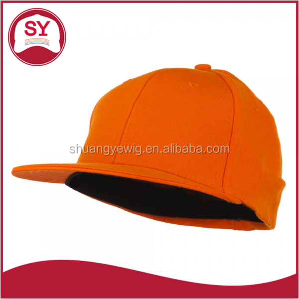 Solid color flex fitted ball cap for men and women