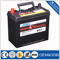 dry lead acid 55B24L car start battery 45ah