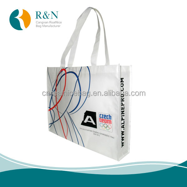 PP Laminated Non woven Spunbond bag,High Quality Nonwoven Promotional Bag