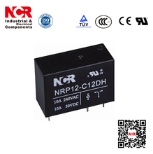 PCB Relay 24V 10A Electrical Relay (NRP12)