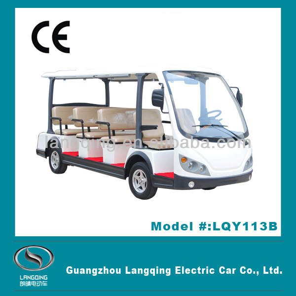 Fashion design 8-14 seats mini bus with power steering
