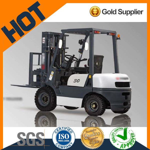 Widely used Toyota brand 3t capacity forklift truck for better price