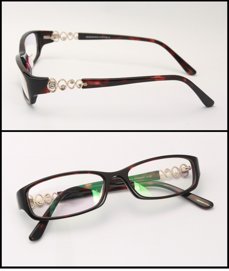 custom acetate top quality frame glasses made in china