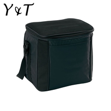 Cheap eco-friendly polyester custom logo thermal cooler lunch bag