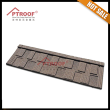 2016 new arrival top quality brand sand coated metal roofing tiles