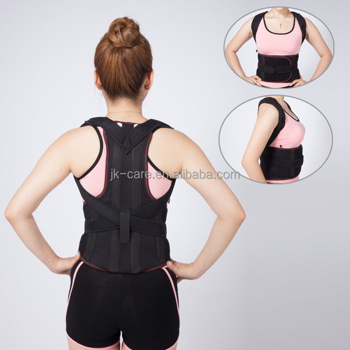 2018 hot selling new products back support belt shoulder support posture corrector