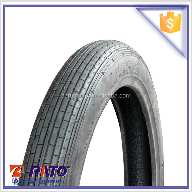 Alibaba China Manufacture Motorcycle Tyre High Quality Manufacture Motorcycle 3.00-18 Motorcycle Tyre