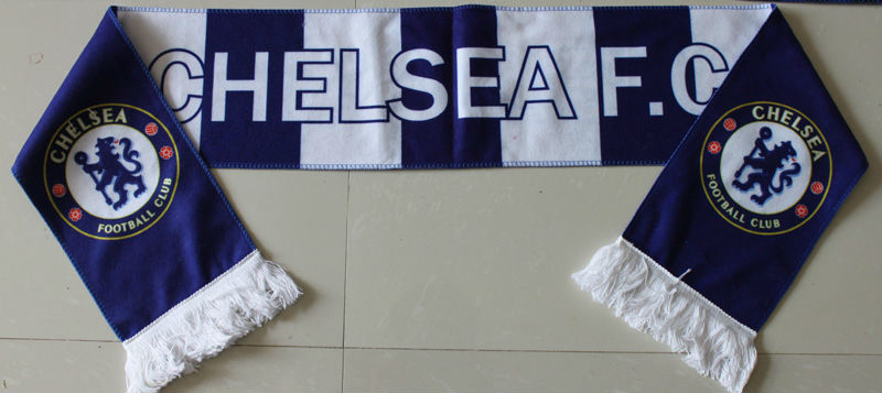 football fan scarf football fan knitted sport scarf woven football scarf