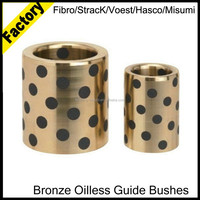 Free sample Sankyo standard JDB sliding bearing, copper brass bushings, bronze graphite bushes