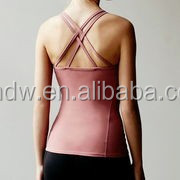 Hot SALES fashion ladies tops women Yoga clothing manufacturers overseas