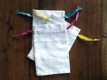 cotton muslin drawstring bag eco cotton min key muslin bag