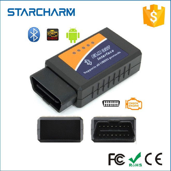 ELM327 Interface Bluetooth V1.5 OBD2 OBDII Code Reader auto diagnostic obd2 scanner vehicle tool