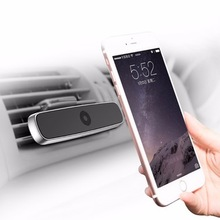 Baseus Car Air Vent Mount Phone Double Clip Horizontal Magnetic phone Holder