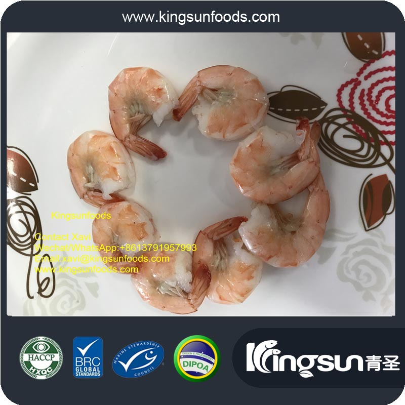 easy peeled blanched butterfly penaeus prawn Vanamei shrimp