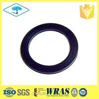 Pressure resistant oil drain plug gasket for sealing