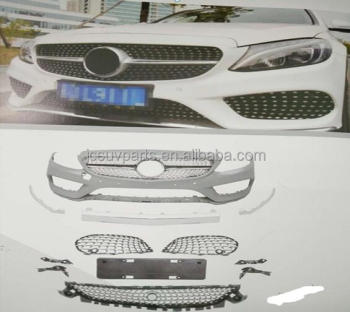 W205 Sport PP Car Body kit for Mercedes - Ben z