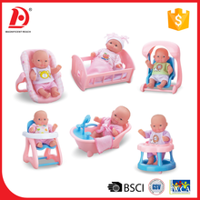 Mini toys set full body silicone baby dolls for sale 2016