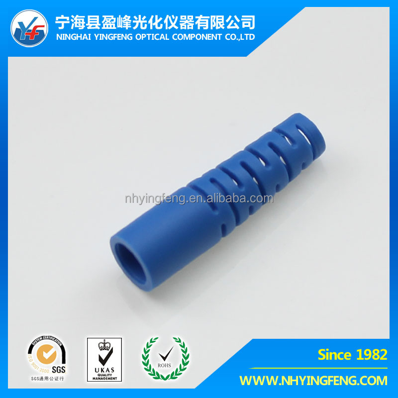 Network markt fast delivery free sample indoor gold supplier alibaba wholesale LC optic fiber connector 3.0 Blue Boot with net