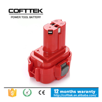 New Makita 9.6V NI-MH 3000mAh Replacement Rechargeable Power Tools Battery Packs 9122, 9120, 9100, 9100A, 9101, wholessale