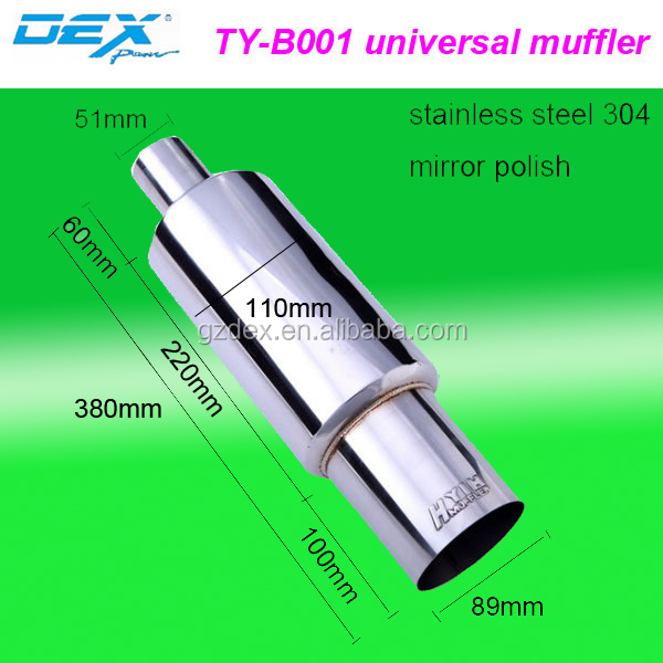 universal hks car parts color exhaust muffler pipe Factory direct selling hot sale