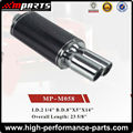 Universal Hi-Power 304 Stainless Steel Performance Auto Exhaust Muffler