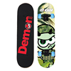 "Natural Wood Street Series Skateboards Wheels 31"" X 8"" Complete skateboard printing"