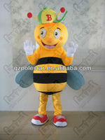 Beneficial insect mascot costume cartoon bee disguise NO.3821