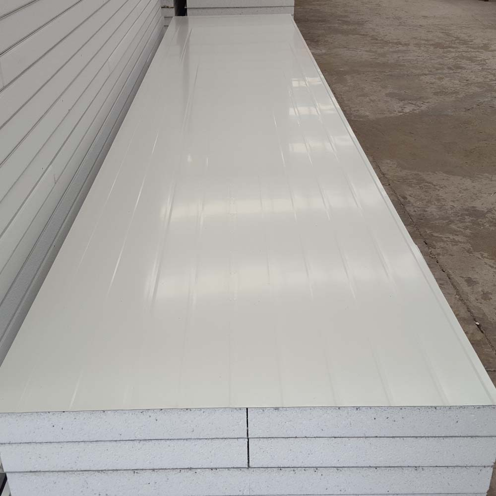 Eps sandwich panel with competitive price made of structural galvanized for steel structure wall board Good sound-proofing