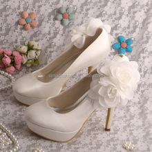 12CM Brand New Design High Heels Platoform Shoes with Flower