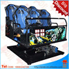 amusement park rides 7D cinema theater movie system suppliers 5d mobile theatre