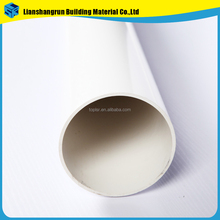 pvc water drainage pipe and fittings