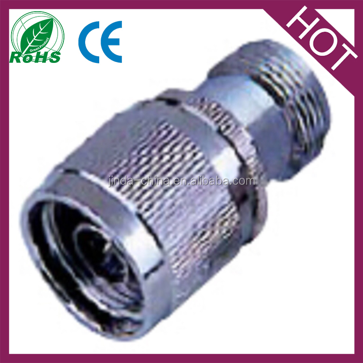 n female jack to n type plug male straight rf coax adapter connector