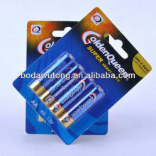 1.5v r6 carbon zinc aa battery