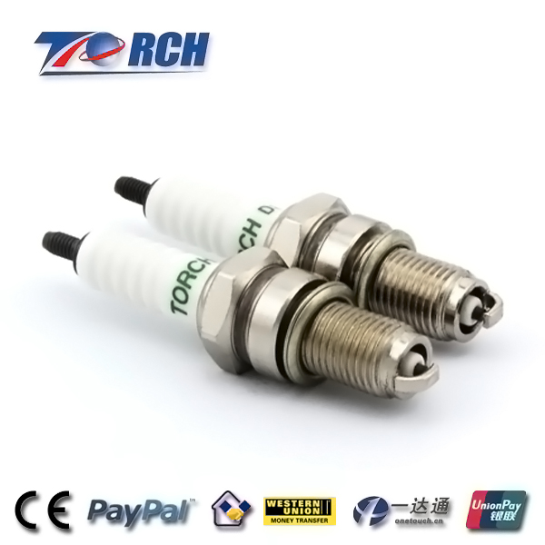 superior quality D7TC/D8TC applied for motorbike VESPA Vespa LX V 125/ 125cc Small gas engine spark plug