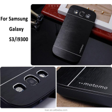 Motomo case for samsung galaxy s3 s3mini Metal back cover cases