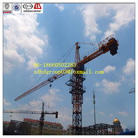 China QTZ500(8031) Hongda 25ton electric stable/traveling Tower crane,25Ton crane for sale