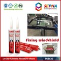 polyurethane rubber adhesive for windshield