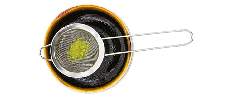 Useful Matcha Powder Sifter Matcha Mesh Colander Stainless Steel Hand Sieve