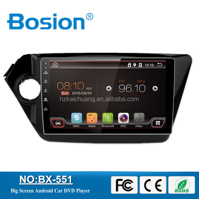 Dashboard Placement Bosion Nice UI Android 6.0.1 Full Touch Screen Car Radio for K3 Car DVD Player GPS Navigation System Wifi 3G