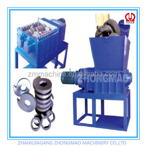 Environmentally friendly tyre shredder with CE certification
