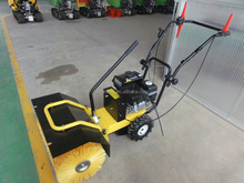 Self-propelled hand push snow thrower in cleaning tools