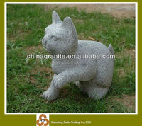 cute granite cat sculpture small stone animal statue
