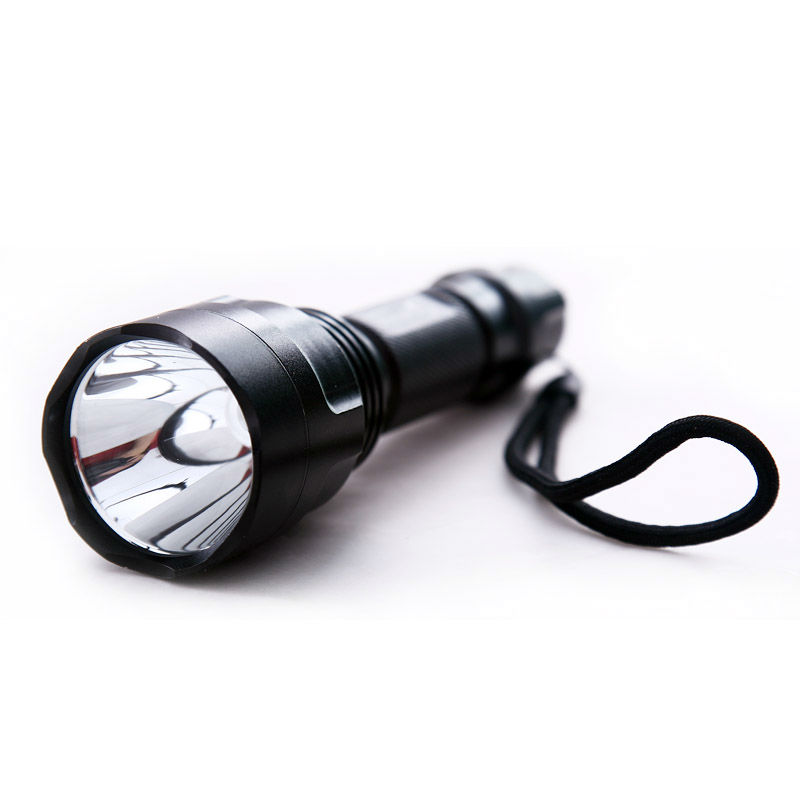 Rechargeable XML C8-T6 5-Mode CREE flashlight torch 1000 Lumen Aluminium C8 Flashlight
