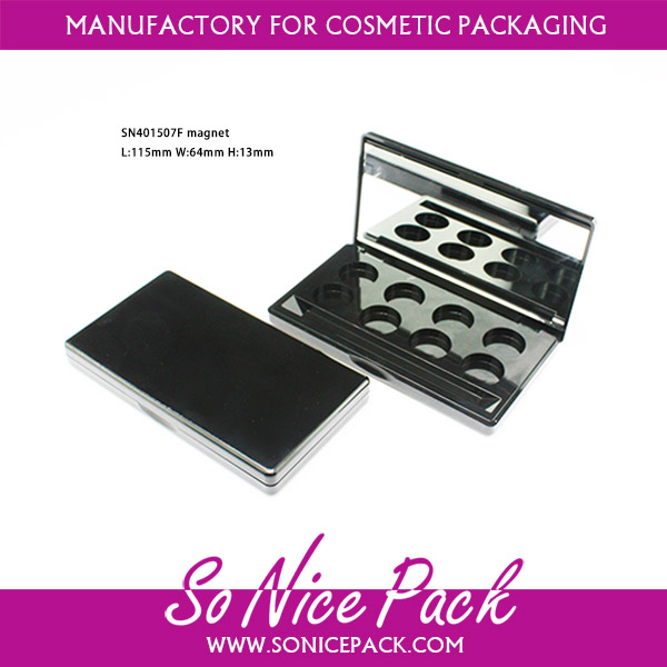wholesale magnet 8 palettes eyeshadow palette magnetic