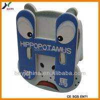 2014 Hotsale Hippopotamus 3d Puzzle, DIY Animal Toy Intelligent Development For Children