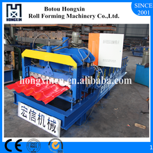 Hebei Portable Galvanized Plate Roof Sheet Roll Forming Machine for Sale