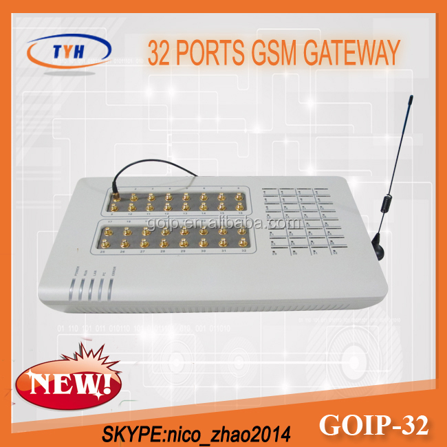 Good Promotion GoIP 32 VoIP SIP Softswitch With IMEI Changer