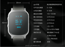 Suitable for Kids, elderly or adult tracking wrist cell phone GPS + Wi-Fi + LBS smart watch wifi