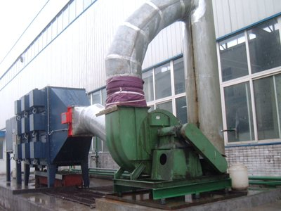 Electrostatic Industrial Soot and Oil Mist Filtration ESP System